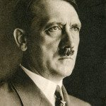 BERLIN, GERMANY, CIRCA 1939 - Vintage portrait of Adolf Hitler, leader of nazi Germany